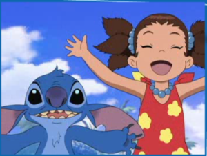 Hana and Stitch